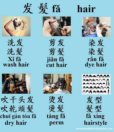20 Useful Mandarin Chinese Phrases When Visiting The Hair